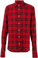 Faith Connexion button-up plaid shirt