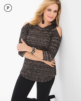 Chico's Sequin Shine Shelley Pullover