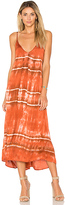Enza Costa Strappy Slip Dress in Burnt Orange. - size 0 / XS (also in )