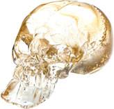 Esque Gold Gilded Glass Skull