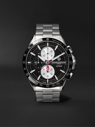 Baume & Mercier Clifton Club Indian Legend Tribute Chief Automatic Chronograph 44mm Stainless Steel Watch, Ref. No. M0a10403