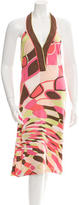 Emilio Pucci Printed Halter Dress