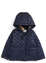 Burberry Toddler Boy's Jamie Water Resistant Quilted Jacket