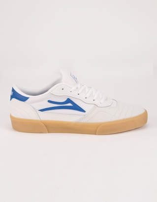 Lakai Cambridge White & Blue Suede Mens Shoes