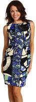 Jax  Sleeveless Colorblock Sheath dress