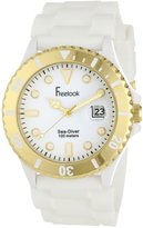 Freelook Men's HA1433G-9 Sea Diver Jelly with Gold Bezel Watch