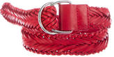 IRO Woven Leather D-Ring Belt