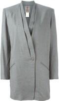 Issey Miyake Pre Owned draped blazer