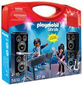 Playmobil City Life PopStars Band Carry Case Set