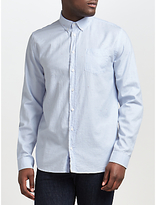 Libertine-libertine Hunter Long Sleeve Oxford Shirt, Sky Blue