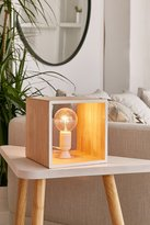 Urban Outfitters Cube Table Lamp