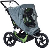 BOB Strollers Weather Shield for Fixed Wheel Strollers - Gray - 2016 - Double