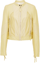 Rebecca Taylor Patched Leather Jacket