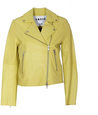 S.W.O.R.D. Biker Leather Jacket