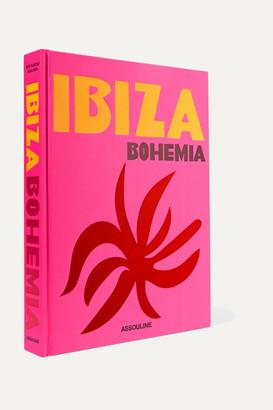 Assouline Ibiza Bohemia By Maya Boyd And Renu Kashyap Hardcover Book - Pink