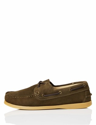 Find. Mens Suede Leather Boat Shoes