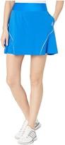 adidas Perforated Color Pop Skort (Glory Blue) Women's Skort