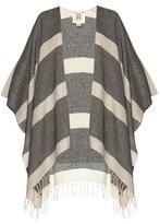 Figue Raj striped alpaca shawl