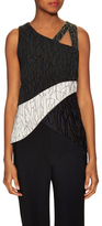 Jonathan Simkhai Caviar Embellished Sleeveless Top