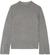 Theory Karinella Cashmere Sweater - Gray