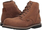 Timberland Millworks 6 Composite Safety Toe Waterproof (Brown Gaucho) Men's Work Boots