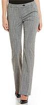Calvin Klein Stretch Woven Glen Plaid Suiting Modern Fit Straight-Leg pants