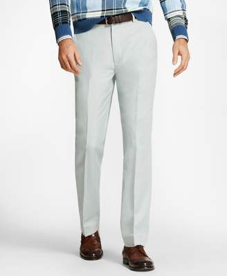 Brooks Brothers Clark Fit Linen and Cotton Chino Pants