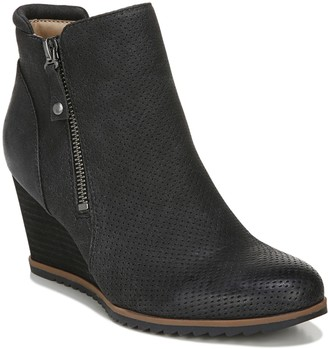 Naturalizer Soul Wedge Heel Ankle Booties - Haley2