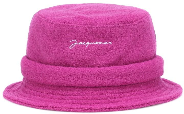Jacquemus Le Bob wool bucket hat