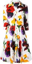 Samantha Sung 'Audrey' dress - women - Cotton/Spandex/Elastane - 8