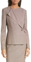 BOSS Women's Jelanisa Tweed Suit Jacket