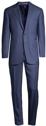 Canali Twill Wool Suit