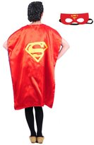 AdventurNow Adult Teen 43 in (110 cm) Superhero Capes w/Mask