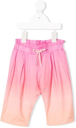 Chloé Kids Gradient-Effect Pleated Trousers