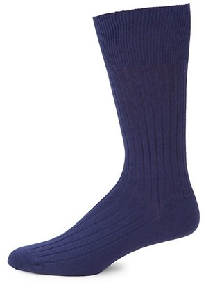 Marcoliani Milano Ribbed Modal-Blend Socks