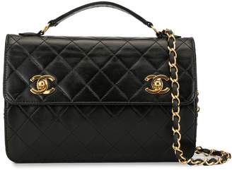 Chanel Pre-Owned double CC turn-lock 2way bag