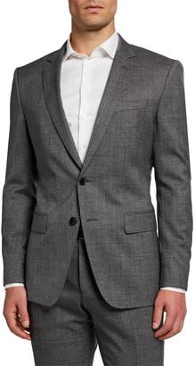 HUGO BOSS Men's Melange Slim-Fit Two-Piece Suit