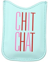 Kate Spade Chit Chat Phone Sleeve (Turquoise/Red/Pink) - Bags and Luggage