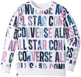 Converse All Over Printed Pullover (Big Kids)