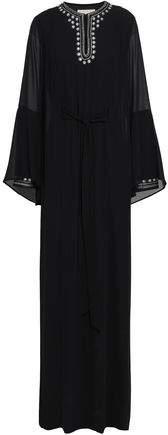 MICHAEL Michael Kors Crystal-embellished Georgette Maxi Dress