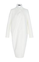 Paule Ka Double Faced Wool Asymmetrical Coat