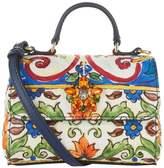 Dolce & Gabbana Floral Embellished Shoulder Bag