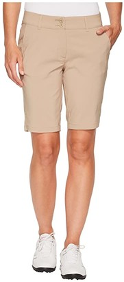 Skechers High Side Bermuda Shorts (Khaki) Women's Shorts