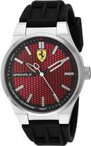Ferrari Men's 830353 Analog Display Quartz Black Watch