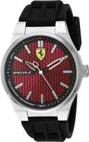 Ferrari Men's 830353 Analog Display Quartz Black Watch