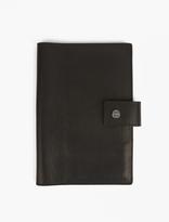 Shinola Black Leather Journal/iPad Mini Cover