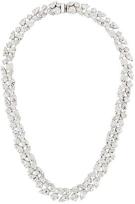 Christian Dior x Susan Caplan 1984 archive leaf design necklace
