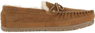 L.L. Bean L.L.Bean Men's Wicked Good Shearling Sheepskin Moccasins