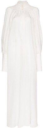 Masterpeace High-Neck Shift Maxi Dress