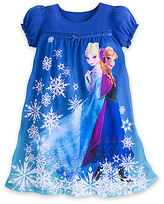Disney Anna and Elsa Nightgown for Girls